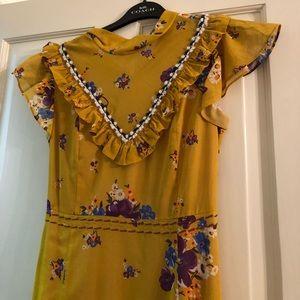 Coach Dresses - Daisy Bouquet Western Fit-&-Flare Dress